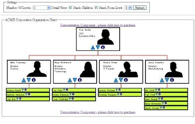 Organisation Chart Component